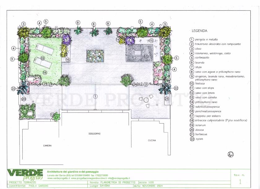 Il progetto - Terrazzo a Savona