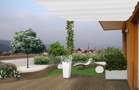 progetto giardino terrazzo