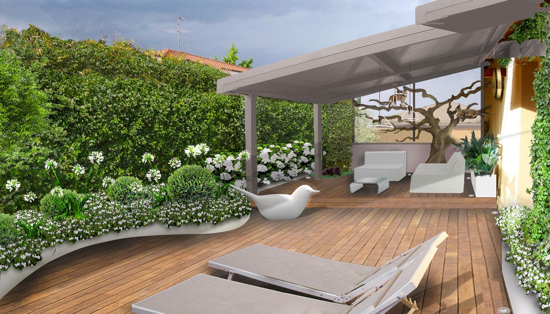 Verde progetto il terrazzo per i gatti - Recinzione terrazzo ...