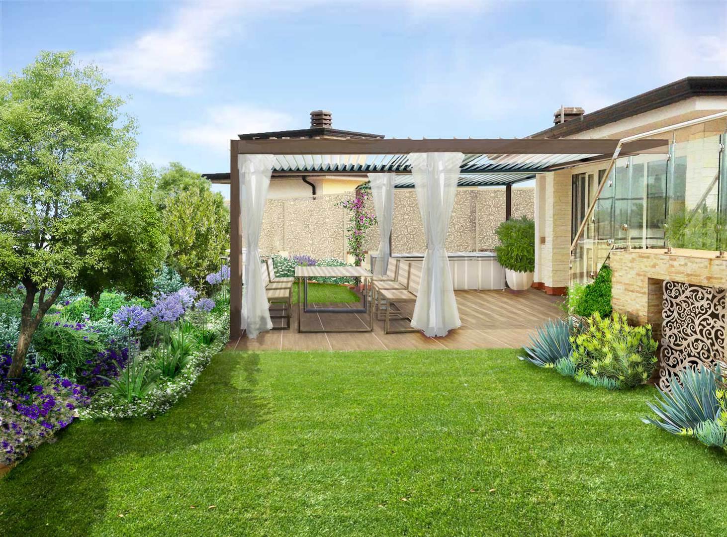 Verde progetto giardini pensili a benevento for Giardini pensili