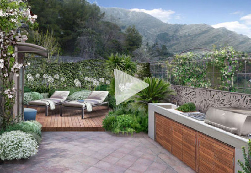 Trendy terrazzi e giardini pensili with giardini sui terrazzi - Giardini sui terrazzi ...