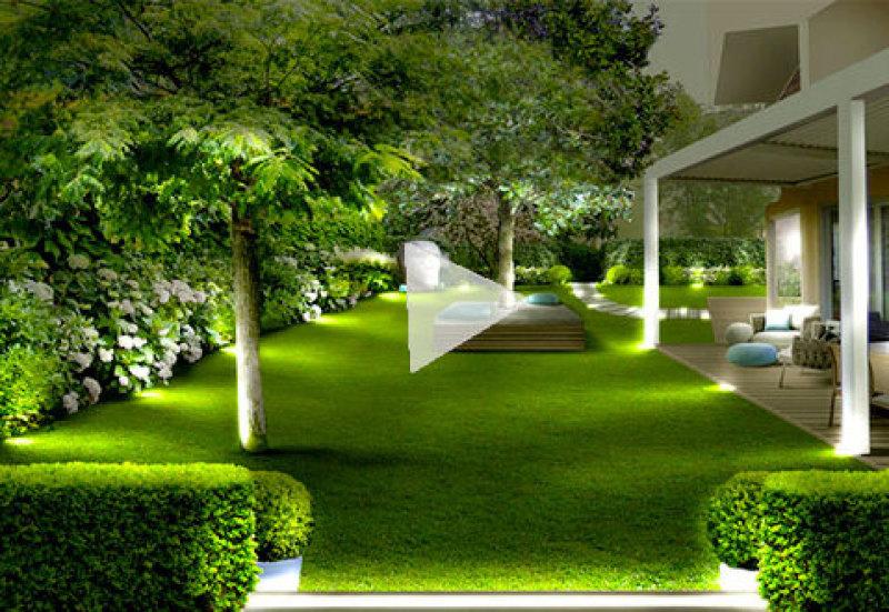 Cheap il giardino rilassannte accogliente with progettare - Come fare il giardino di casa da soli ...