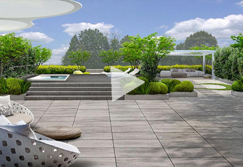 Progetto giardino online giardini creativi su misura per te - Giardini sui terrazzi ...