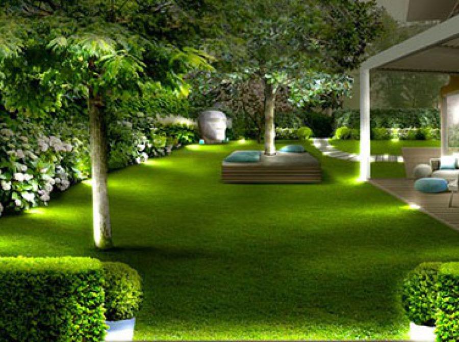Progetti giardino per villette bh28 pineglen for Progetto online