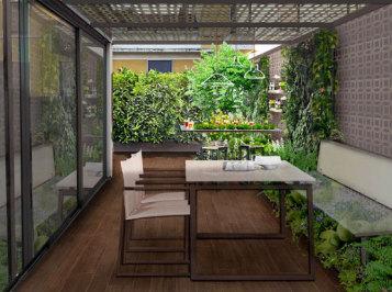 Perfect giardini pensili terrazzi e balconi with giardini - Giardini sui terrazzi ...