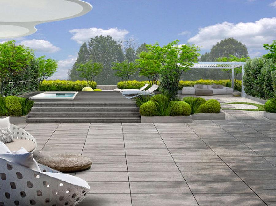 Best terrazzi fioriti progetti contemporary idee for Terrazzi zen