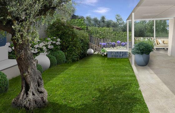 Progetto giardino online galleria progetti giardini - Immagini di giardini fioriti ...