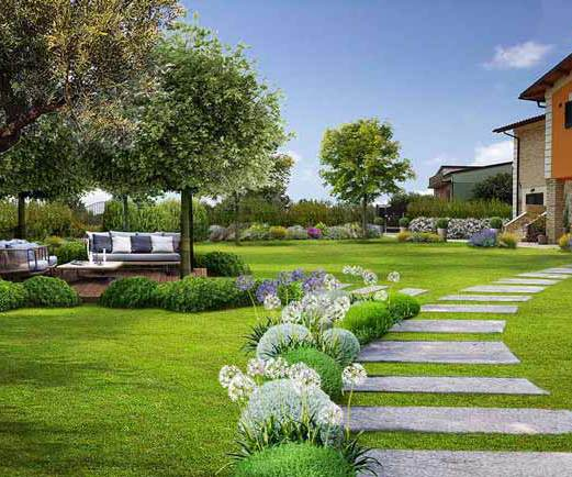 Per creare il tuo Giardino servono un buon progetto, tanta creatività ...