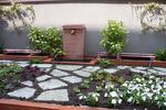 Il giardino pensile appena realizzato