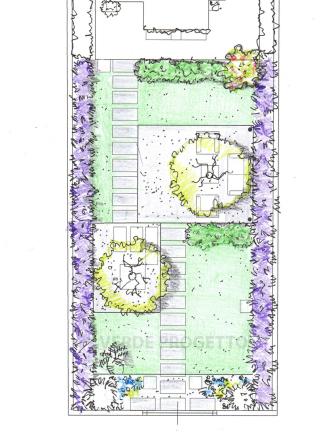 Progetto giardino Roma
