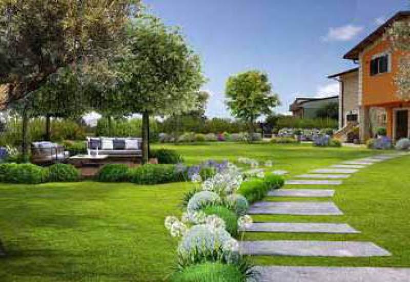 Progetto giardino online giardini creativi su misura per te for Giardino 100 mq