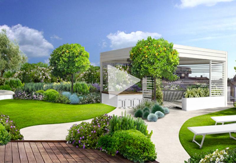 Giardini Moderni Borgomanero : Progetto giardino online giardini creativi su misura per te
