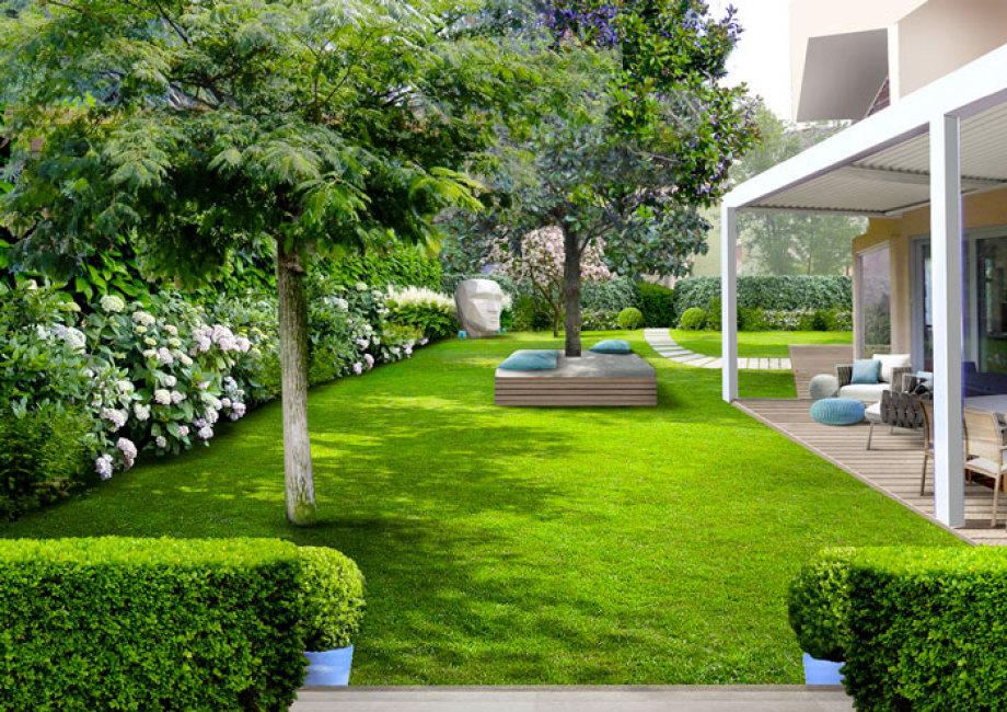 Verde progetto il giardino rilassante - Casa con giardino roma ...