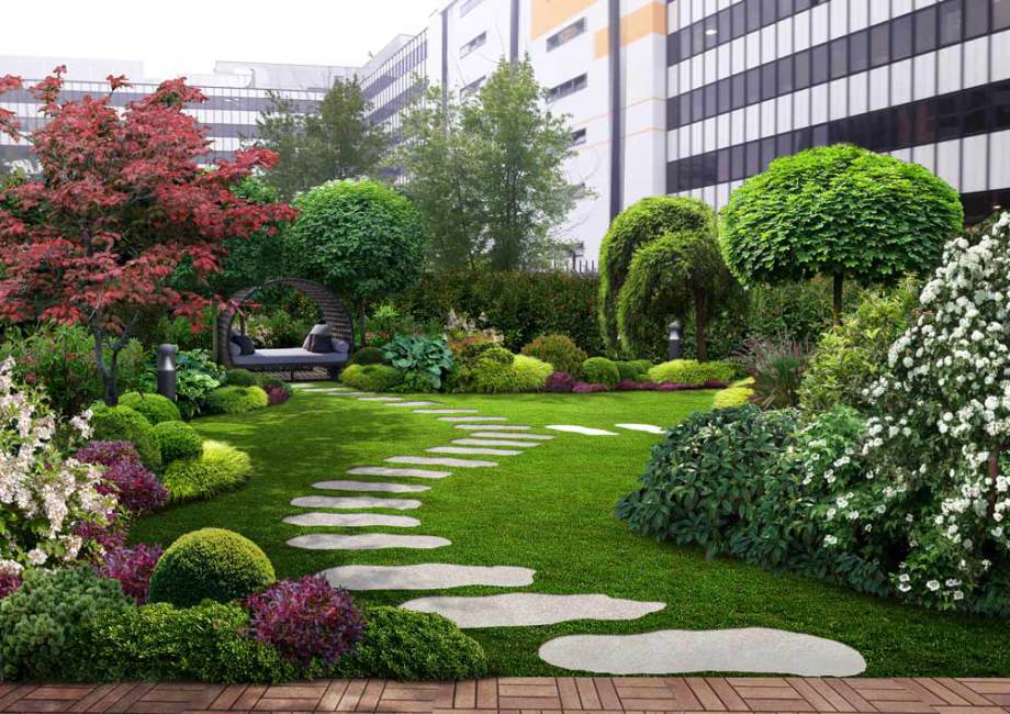 progetto giardino Zen