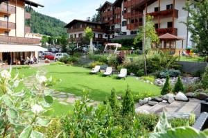 Giardino pensile sulle Dolomiti