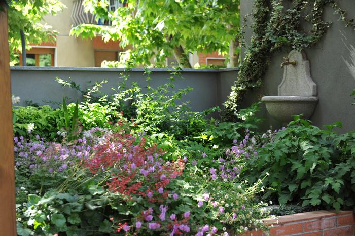 Progetto giardino online: il giardino pensile allombra