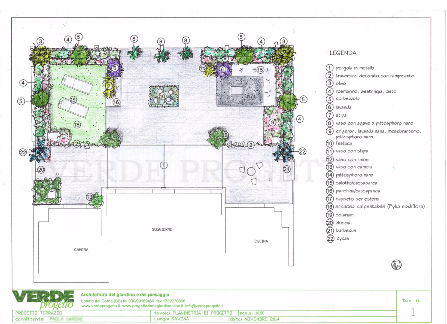Verde Progetto: il terrazzo a Savona