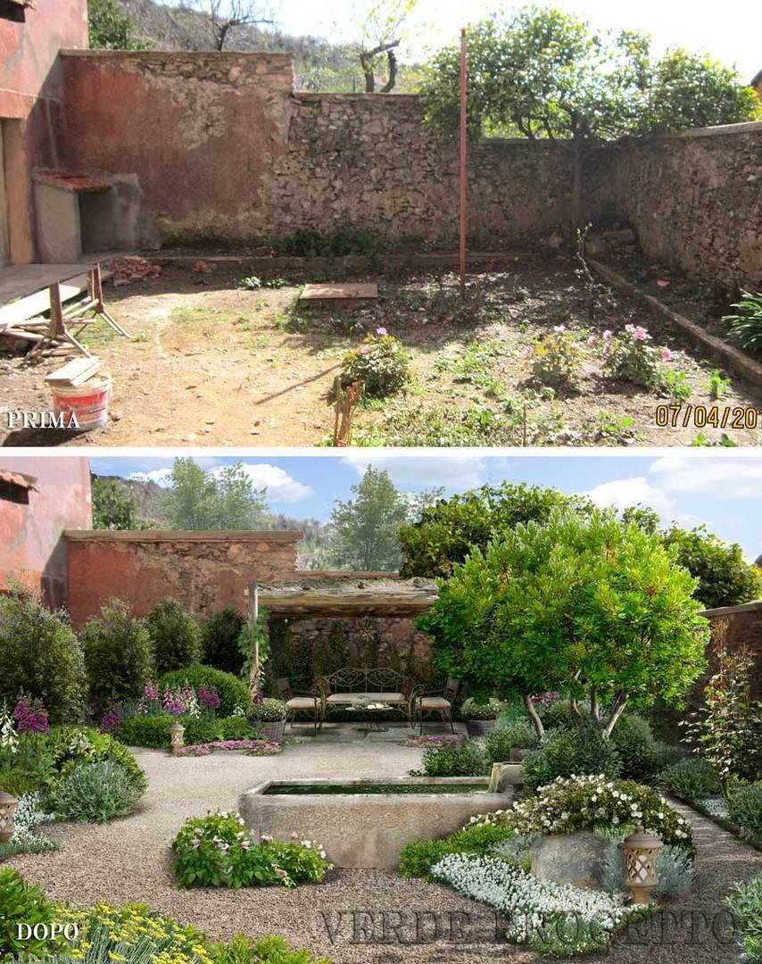 Progettare Un Giardino In Campagna verde progetto: il giardino senz'acqua xeriscaping